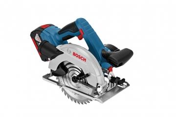 Bosch Professional GKS 18 V-57 G 2,6 Ah Çift Akülü Daire Testere - L-boxx Çantalı