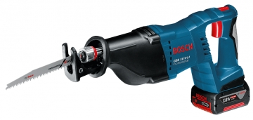 Bosch Professional GSA 18V-LI 4 Ah Çift Akülü Testere - L-boxx Çantalı