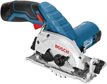Bosch Professional GKS 12V-26 2,5 Ah Çift Akülü Daire Testere - L-boxx Çantalı