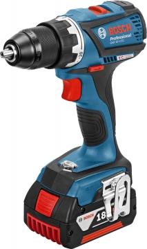 Bosch Professional GSR 18 V-EC 5 Ah Çift Akülü Delme/Vidalama - L-boxx Çantalı