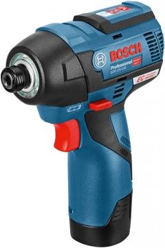 Bosch Professional GDR 12 V-110 EC 12 Volt 2,5 Ah Çift Akülü Darbeli Somun Sıkma - Kömürsüz motor