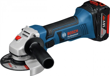 Bosch Professional GWS 18-125 V-LI  5,0 Ah Çift Akülü Taşlama - L-boxx Çantalı