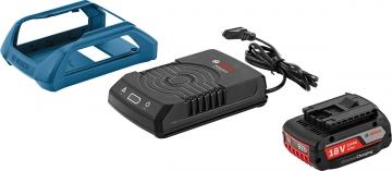 Bosch Professional GBA 18 Volt 2,0 Ah MW-B+GAL 1830 W Kablosuz Şarj Sistemi