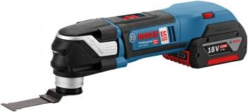 Bosch Professional GOP 18V-28 2,5 Ah Çift Akülü Çok Amaçlı Alet - L-boxx Çantalı
