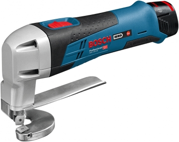 Bosch Professional GSC 12V-13 2 Ah Çift Akülü Sac Kesme Makinesi - L-boxx Çantalı