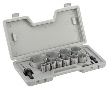 Bosch 14 Parçalı Bimetal Panç Seti 19-76 mm