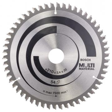 Bosch MultiMaterial 210*30 mm 54 Diş