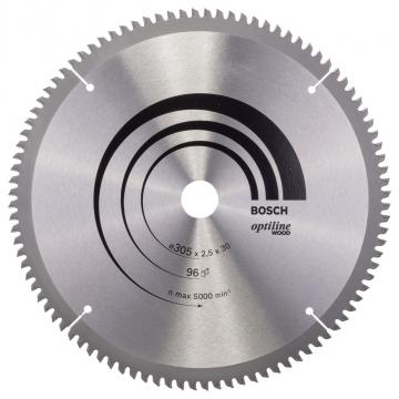 Bosch Optiline Wood 305*30 mm 96 Diş