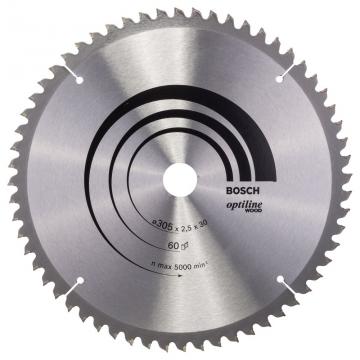 Bosch Optiline Wood 305*30 mm 60 Diş