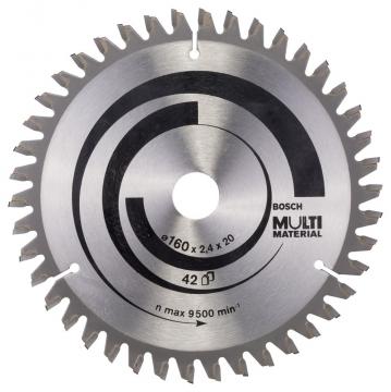 Bosch MultiMaterial 160*20/16 mm 42 Diş