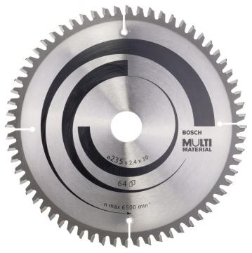 Bosch MultiMaterial 235*30/25 mm 64 Diş