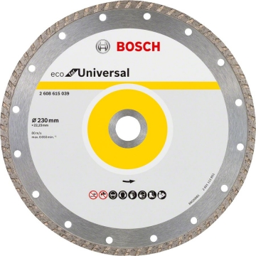 Bosch 9+1 Eco for Universal 230 mm Turbo