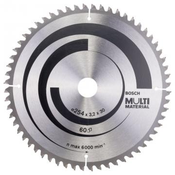 Bosch MultiMaterial 254*30 mm 60 Diş