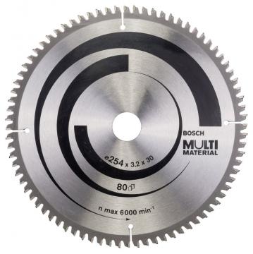 Bosch MultiMaterial 254*30 mm 80 Diş