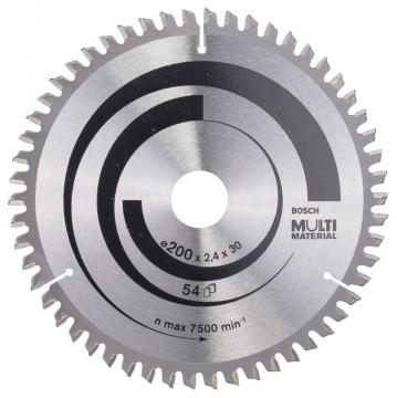 Bosch MultiMaterial 200*30 mm 54 Diş