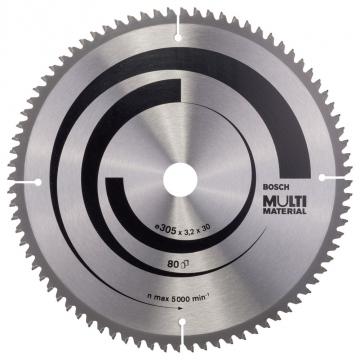 Bosch MultiMaterial 305*30 mm 80 Diş