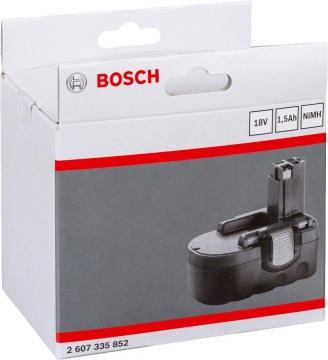 Bosch 18 V 1,5 Ah DIY NiMh O-Pack Akü