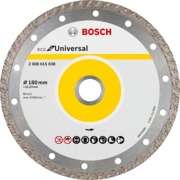 Bosch 9+1 Eco for Universal 180 mm Turbo