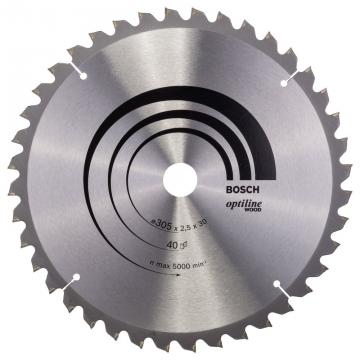 Bosch Optiline Wood 305*30 mm 40 Diş