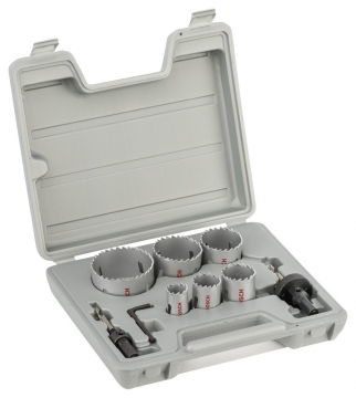 Bosch 9 Parçalı Bimetal Panç Seti 22-64 mm