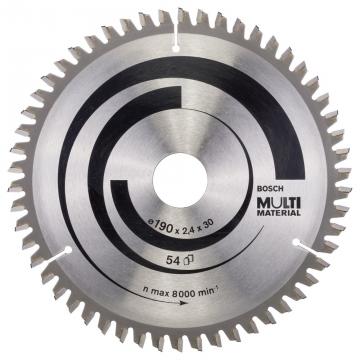 Bosch MultiMaterial 190*30 mm 54 Diş