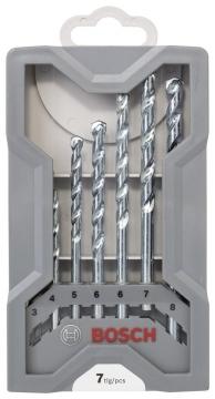Bosch cyl-1 Taş Matkap Ucu Seti 7 Parça