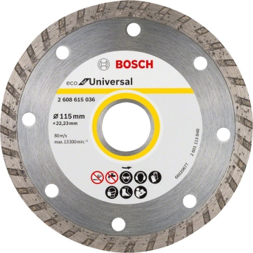 Bosch 9+1 Eco for Universal 125 mm Turbo