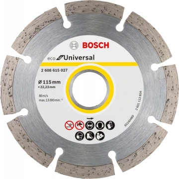 Bosch 9+1 Eco for Universal 115 mm