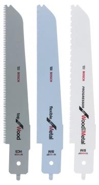Bosch PFZ 500E Panter Testere Bıçağı Set 3\'lü