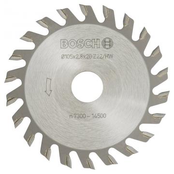 Bosch GUF 4-22 A Kesici Bıçak 20*2,8 mm 22 D
