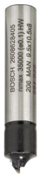 Bosch Standard W ÇeyrekParmak Freze 8*9,5*41mm