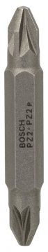 Bosch Çift taraflı uç PZ2xPZ2*45 mm 1\'li