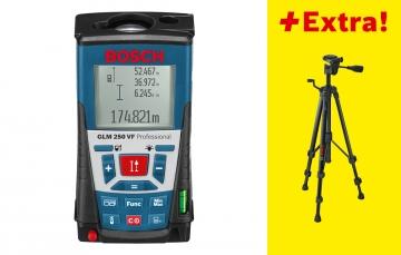 Bosch GLM 250 VF + BS 150 Professional Lazerli Uzaklık Ölçer