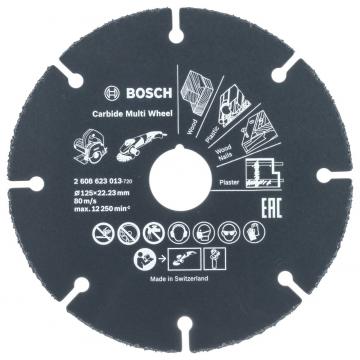 Bosch Carbide Multi Wheel 125 mm
