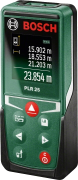 Bosch PLR 25 Dijital Lazerli Uzaklık Ölçer Karton Kutu Versiyon