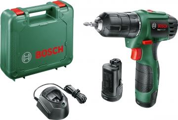 Bosch Easy Drill 1200  Akülü Delme/Vidalama Makinesi 1,5 AH (Çift Akü)