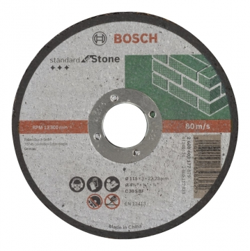 Bosch 115*3,0 mm Standard for Stone Düz