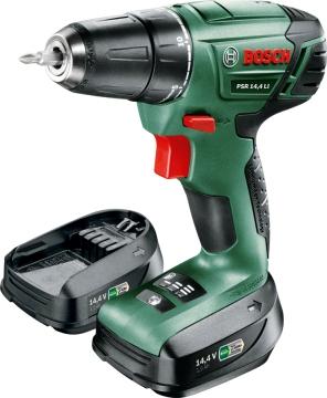 Bosch PSR 14,4 LI Akülü Vidalama Makinesi - 1,5 Ah Tek Akü