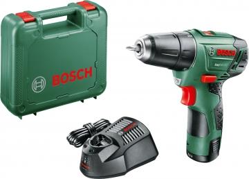 Bosch Easy Drill 12-2 Akülü Delme/Vidalama Makinesi  2,5 AH (Tek Akü)