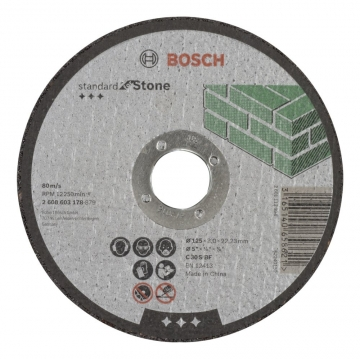 Bosch 125*3,0 mm Standard for Stone Düz