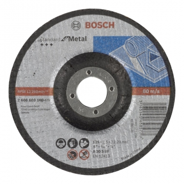 Bosch 125*2,5 mm Standard for Metal Bombeli