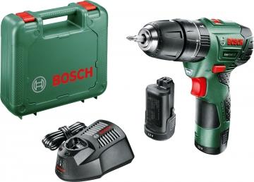 Bosch Easy Impact 12 Darbeli Matkap 2,5 AH (Çift Akü)