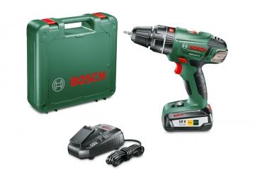 Bosch PSB 18 LI-2 Tek Akü 2,5 Ah Akülü Darbeli Delme/Vidalama Makinesi