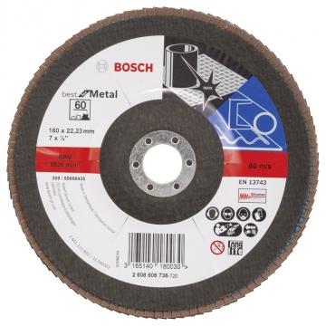 Bosch 180 mm 60 K Best for Metal Flap Disk