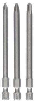 Bosch 3 Parça ExtraHard PH1/2/3*89 mm