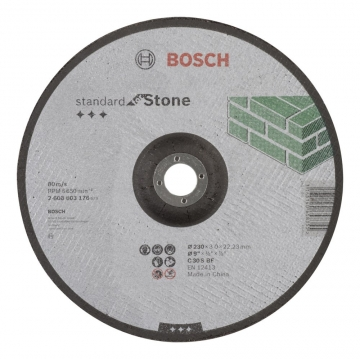 Bosch 230*3,0 mm Standard for Stone Bombeli