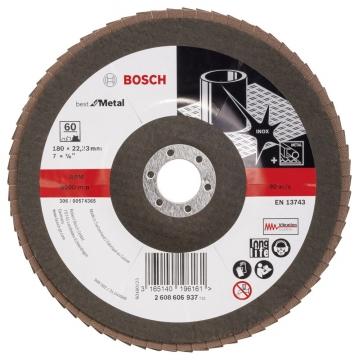 Bosch 180 mm 60 K Expert for Metal Flap Disk