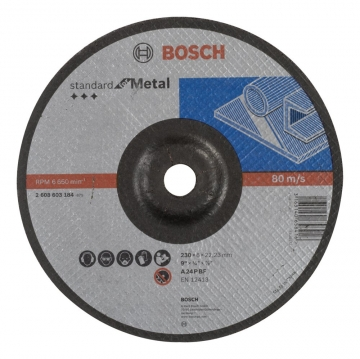 Bosch 230*6,0 mm Standard for Metal