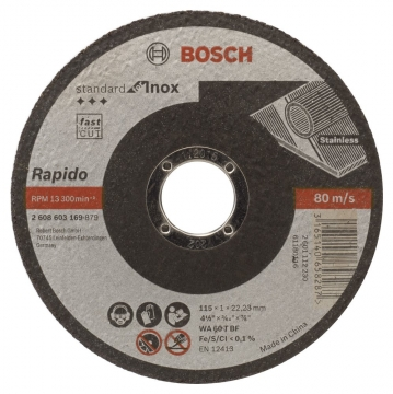 Bosch 115*1,0 mm Standard for Inox Rapido