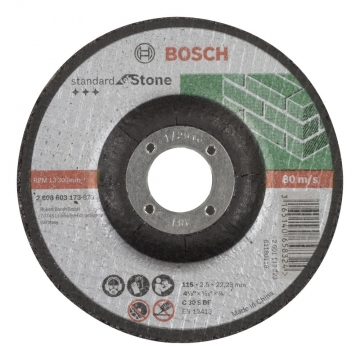 Bosch 115*2,5 mm Standard for Stone Bombeli